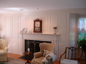 The interior painting experts at Kevin Palmer Painting painted this home in Simsbury CT.