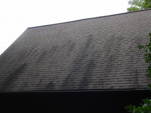 Roof staining and discoloration can spoil a home's appearance and reduce property value.