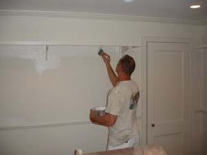Rob has the skills and expertise required to make this interior painting project both beautiful and long lasting.