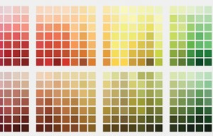 Sherwin Williams color families