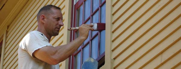 Painting Trim On House Exterior